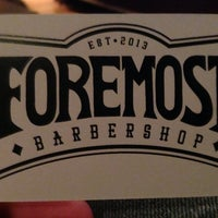 Photo prise au Foremost Barbershop par Todd M. le11/8/2013