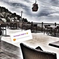 5/27/2018 tarihinde Zeynep E.ziyaretçi tarafından Teleferik Cafe & Restaurant'de çekilen fotoğraf