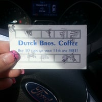 Photo taken at Dutch Bros. Coffee by Patricia?? on 3/16/2013