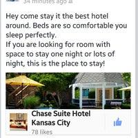 Foto diambil di Chase Suite Hotel By Woodfin oleh Maddison B. pada 3/8/2014