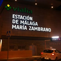รูปภาพถ่ายที่ Estación de Málaga-María Zambrano โดย Rafael sanchez I. เมื่อ 1/29/2013