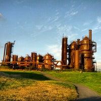 Foto tirada no(a) Gas Works Park por Onur K. em 9/26/2012