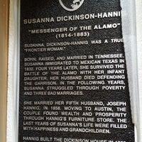 Foto scattata a Joseph and Susanna Dickinson Hannig Museum da Christian D. il 4/24/2014