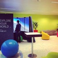 Photo prise au Google Brussels par Benoit R. le12/5/2012
