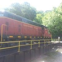 Tennessee Valley Railroad Turntable - Amnicola - East