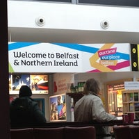 Foto tirada no(a) George Best Belfast City Airport (BHD) por Dawn M. em 3/13/2013