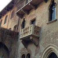 1/1/2013 tarihinde Nadezhda🍒ziyaretçi tarafından Casa di Giulietta'de çekilen fotoğraf