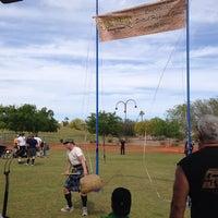 Photo taken at Arizona Highland Games by Bonnie T. on 3/22/2014