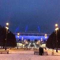 Снимок сделан в Стадион «Санкт-Петербург» пользователем Владимир П. 1/2/2018