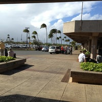 Photo taken at Kahului Airport (OGG) by Christine A. on 2/23/2013