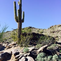 Photo taken at South Mountain Hiking Trails by Pam V. on 1/3/2014