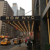 3/6/2017 tarihinde Martijn S.ziyaretçi tarafından Row NYC'de çekilen fotoğraf
