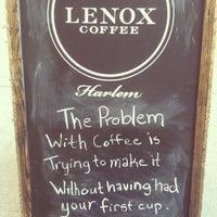 Снимок сделан в Lenox Coffee пользователем Sara K. 7/7/2013