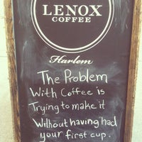 Foto diambil di Lenox Coffee oleh Sara K. pada 7/7/2013