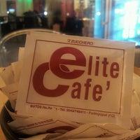Снимок сделан в Elite Cafe' пользователем Elio P. 1/26/2013