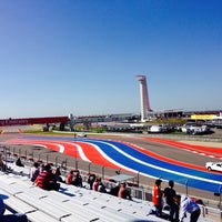Foto tirada no(a) Circuit of The Americas por Gerhard R. em 11/18/2013