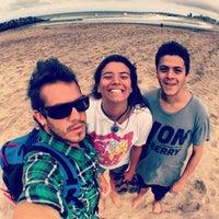 Foto tomada en Balneario Puerto Viejo (Miramar) por Juan S. el 3/4/2014