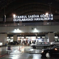 Photo prise au Aéroport international Sabiha-Gökçen (SAW) par Cemal K. le4/16/2013