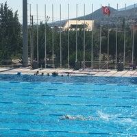 7/19/2017 tarihinde Pınar G.ziyaretçi tarafından Narlıdere Yüzme Havuzu'de çekilen fotoğraf