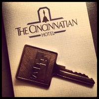 5/1/2013にKristin V.がThe Cincinnatian Hotelで撮った写真