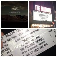 รูปภาพถ่ายที่ The Fillmore Detroit โดย Kevin S. เมื่อ 1/19/2013