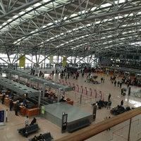 Das Foto wurde bei Hamburg Airport Helmut Schmidt (HAM) von Gleb F. am 3/10/2013 aufgenommen