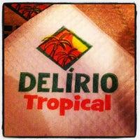 Foto tirada no(a) Delírio Tropical por Marcelo S. em 1/8/2013
