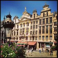 7/8/2013 tarihinde Guy L.ziyaretçi tarafından Grand Place / Grote Markt'de çekilen fotoğraf