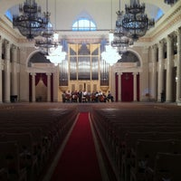 Photo prise au Grand Hall of St Petersburg Philharmonia par Valentin S. le4/17/2013