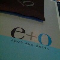 Снимок сделан в E+O Food And Drink пользователем Katrina N. 6/24/2013