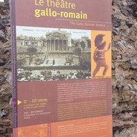 Photo prise au Théâtre Gallo-romain de Lillebonne par Mansour H. le5/12/2014
