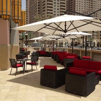 Снимок сделан в Emporio Armani Café- The Pearl Qatar пользователем Sherif S. 5/9/2013