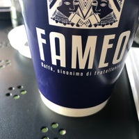 10/14/2018 tarihinde Esra A.ziyaretçi tarafından FAMEO | Caffè, sinonimo di fratellanza'de çekilen fotoğraf