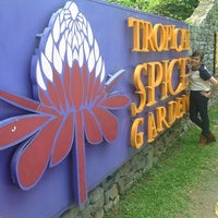 Photo prise au Tropical Spice Garden par CheQ Nono le1/31/2013