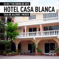 Foto tirada no(a) Casablanca Tula Hotel por miguelaranamx em 1/8/2013
