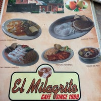 รูปภาพถ่ายที่ El Milagrito Cafe โดย Alan Ellis เมื่อ 7/21/2019