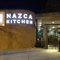 Снимок сделан в Nazca Kitchen пользователем Nathan V. 1/7/2013