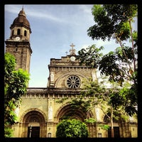 Foto tomada en Cathedral-Basilica of the Immaculate Conception of Manila (Manila Cathedral) por Olly S. el 2/18/2013