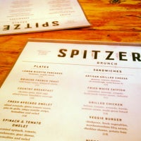 Spitzers corner menu