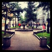 Снимок сделан в Андреевский бульвар пользователем Danil I. 10/12/2012