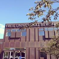 Das Foto wurde bei Freie Universität Berlin von Jessi am 10/1/2013 aufgenommen