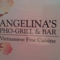 Photo taken at Angelina's Ph? & Grill Bar by Hannah S. on 2/9/2013