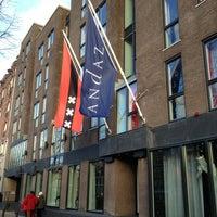 Das Foto wurde bei Andaz Amsterdam, Prinsengracht von Diablo am 12/27/2012 aufgenommen
