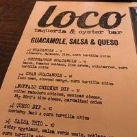 Снимок сделан в Loco Taqueria & Oyster Bar пользователем GalwayGirl 7/26/2018