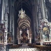 7/21/2013 tarihinde ValeriYAziyaretçi tarafından Aziz Stephan Katedrali'de çekilen fotoğraf
