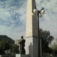 10/27/2012 tarihinde Tomás J.ziyaretçi tarafından Monumento José Manuel Balmaceda'de çekilen fotoğraf