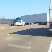 Car Wreck I-40 East - Forrest City, AR