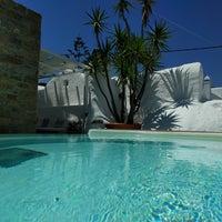 6/14/2017 tarihinde Oliver L.ziyaretçi tarafından Carbonaki Hotel Mykonos'de çekilen fotoğraf