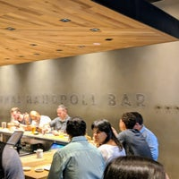 Foto scattata a KazuNori: The Original Hand Roll Bar da Fred W. il 11/2/2018