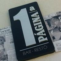 Foto diambil di Primeira Página Bar & Restô oleh Cika K. pada 4/6/2013